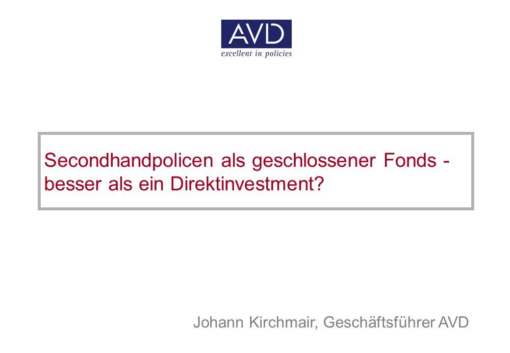 1 © Allgemeiner Versicherungsdienst Gesellschaft m.b.H.
