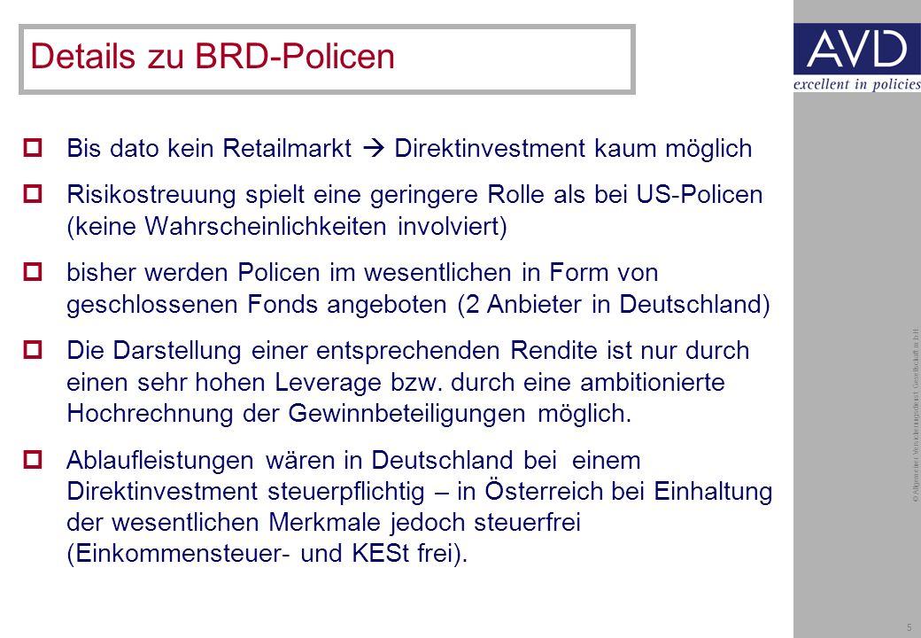 5 © Allgemeiner Versicherungsdienst Gesellschaft m.b.H.