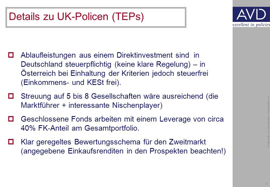 8 © Allgemeiner Versicherungsdienst Gesellschaft m.b.H.