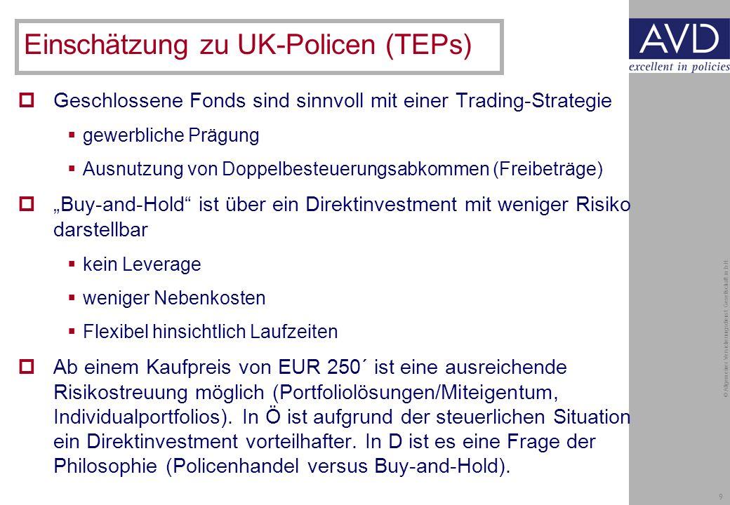 9 © Allgemeiner Versicherungsdienst Gesellschaft m.b.H.