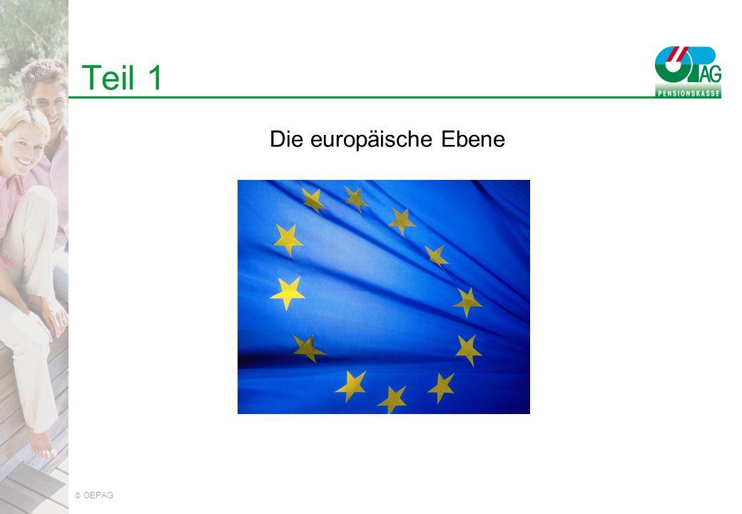 OEPAG Teil 1 Die europäische Ebene