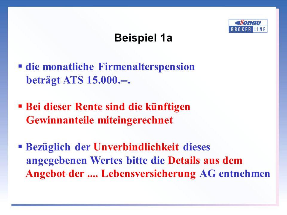 Beispiel 1b