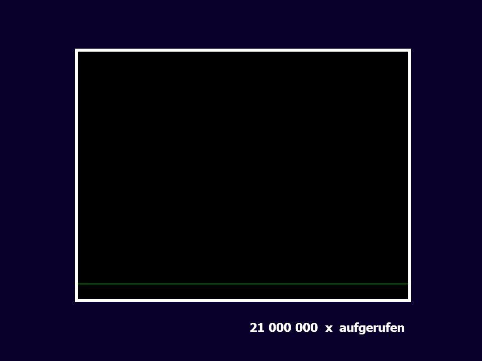 21 000 000 x aufgerufen