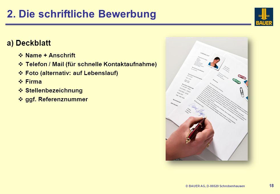 © BAUER AG, D-86529 Schrobenhausen 18 2.