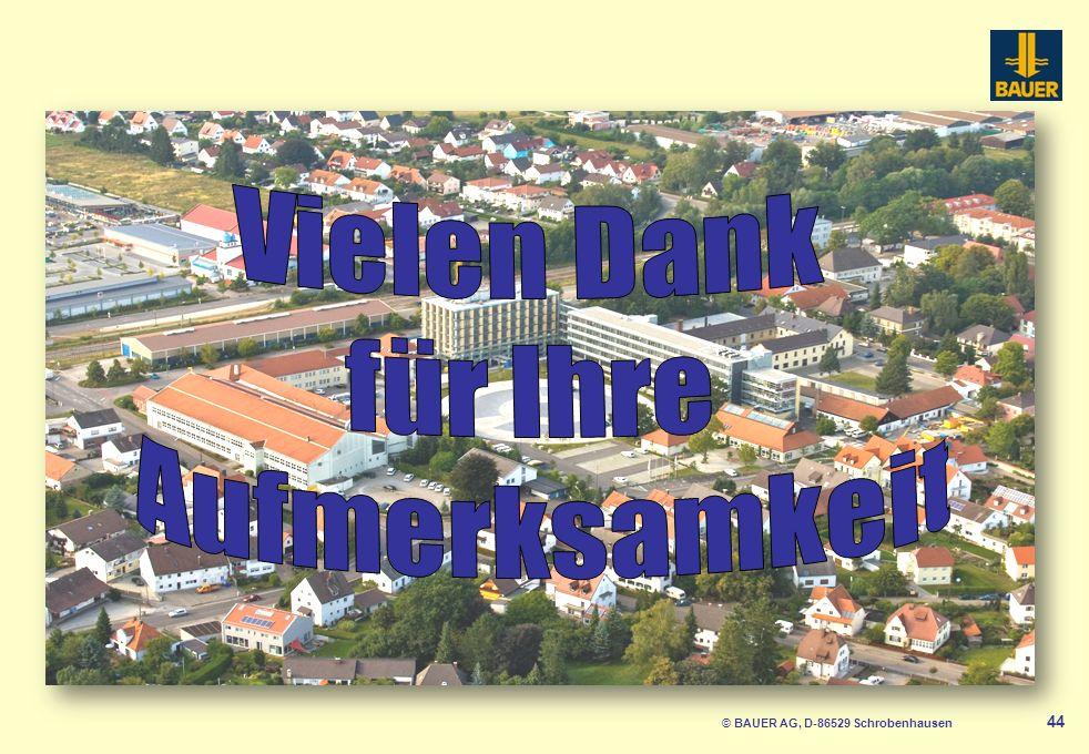 © BAUER AG, D-86529 Schrobenhausen 44