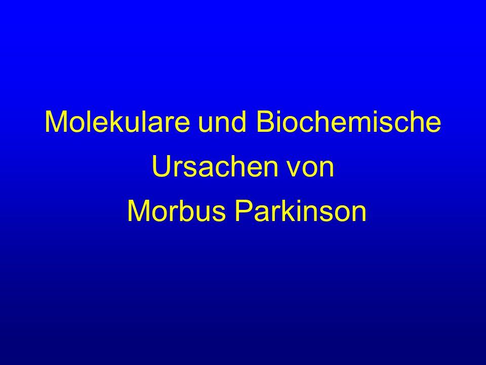 Molekulare und Biochemische Ursachen von Morbus Parkinson