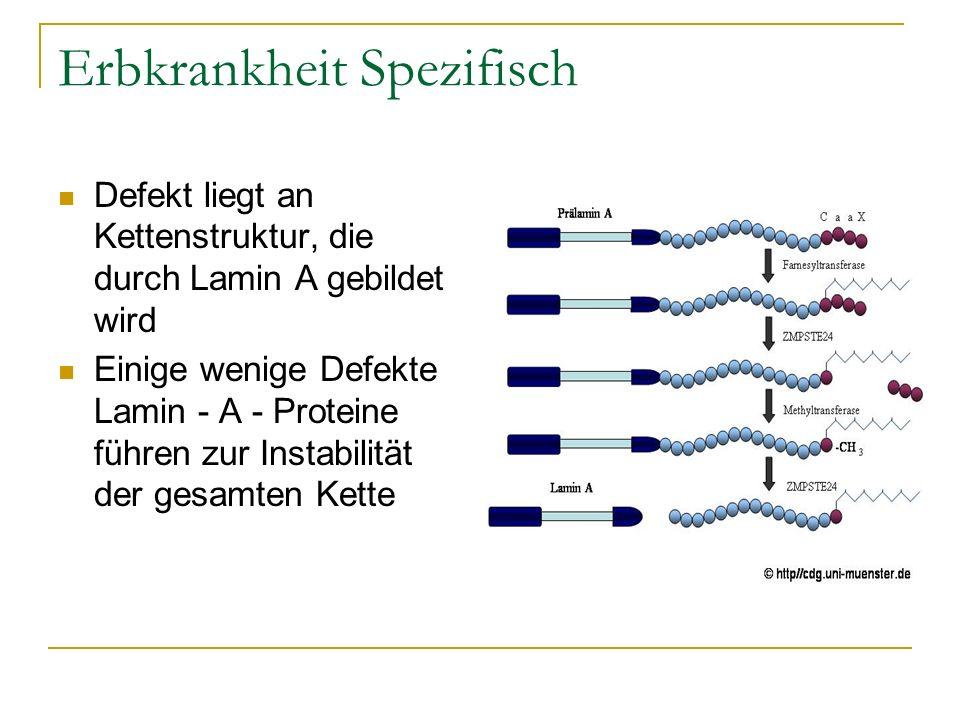 Quellen, Literatur, Weblinks Michael Schophaus: Zu jung, um alt zu sein: Die Geschichte einer rätselhaften Krankheit.