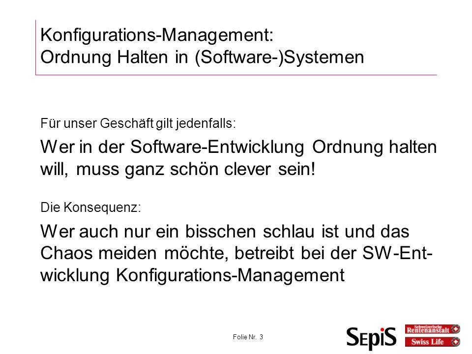 Folie Nr.24 KonfigMgmt bei ISO 9001 6.1.1 Allgemeines...