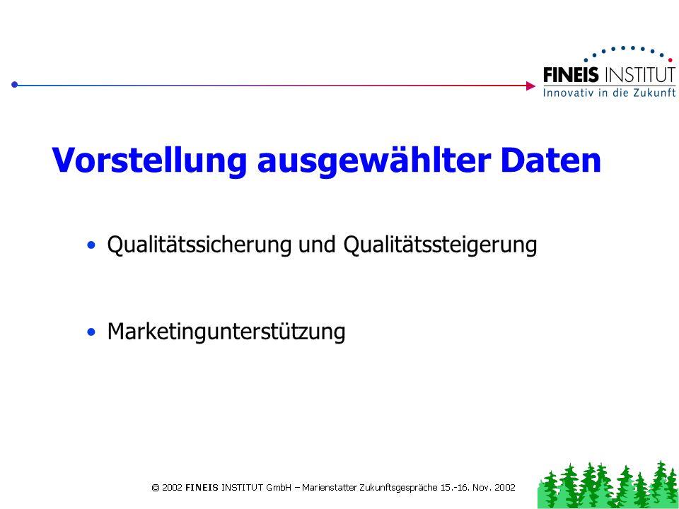 Rahmendaten zur PEG Westerwald und Rheinland-Pfalz 2001 Jeweils 400 Interviews in den rheinland-pfälzischen Reisegebieten Im Westerwald 401 Interviews