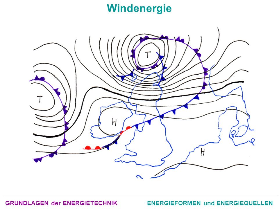 GRUNDLAGEN der ENERGIETECHNIKENERGIEFORMEN und ENERGIEQUELLEN Windenergie