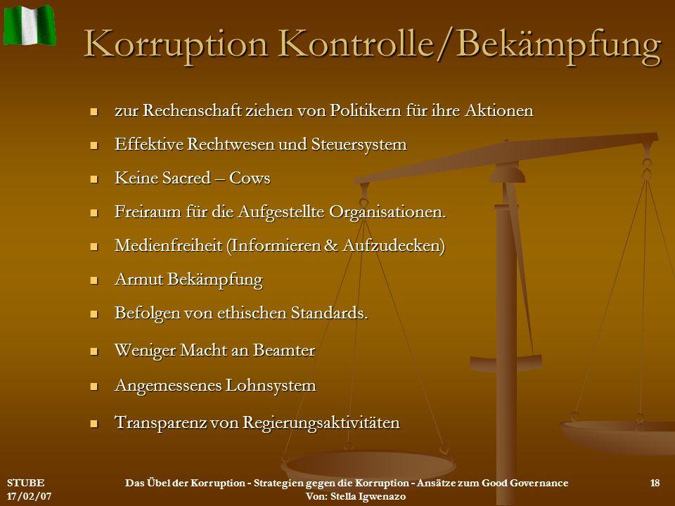 Korruption Kontrolle/Bekämpfung zur Rechenschaft ziehen von Politikern für ihre Aktionen zur Rechenschaft ziehen von Politikern für ihre Aktionen Effe