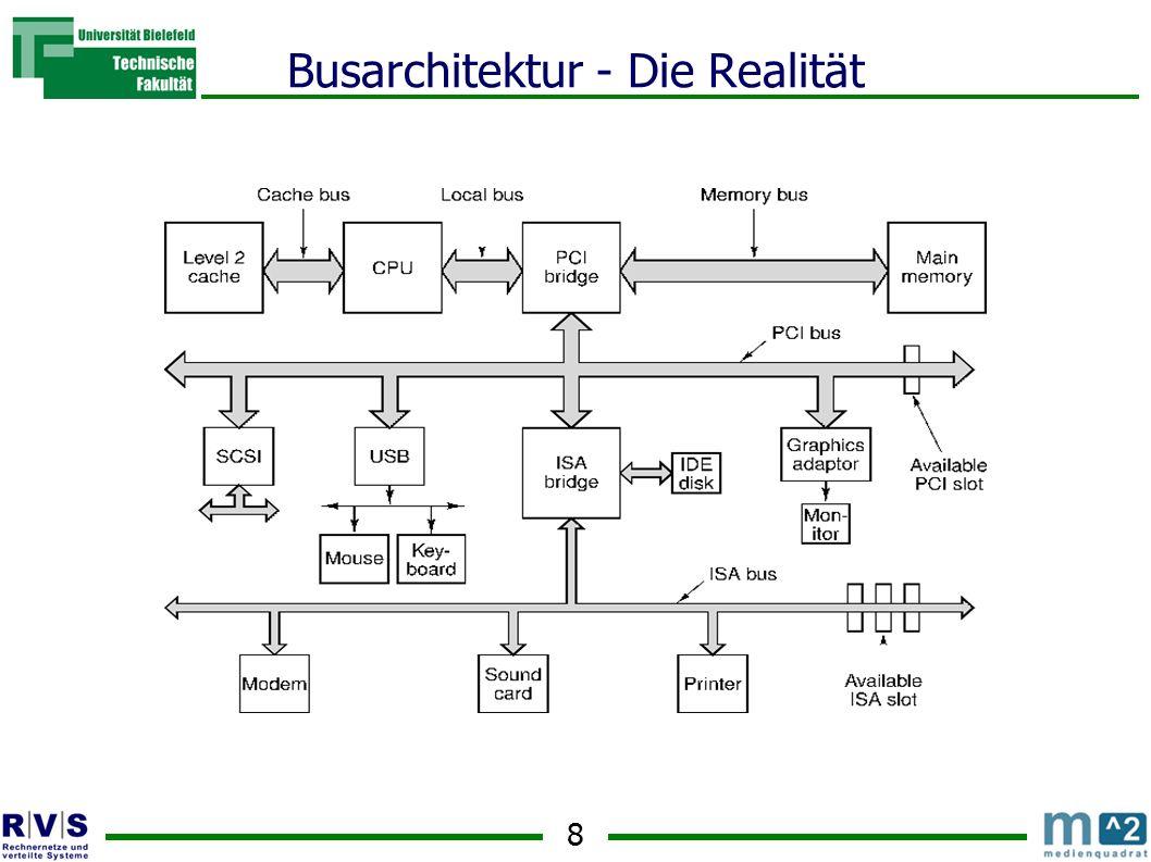8 Busarchitektur - Die Realität