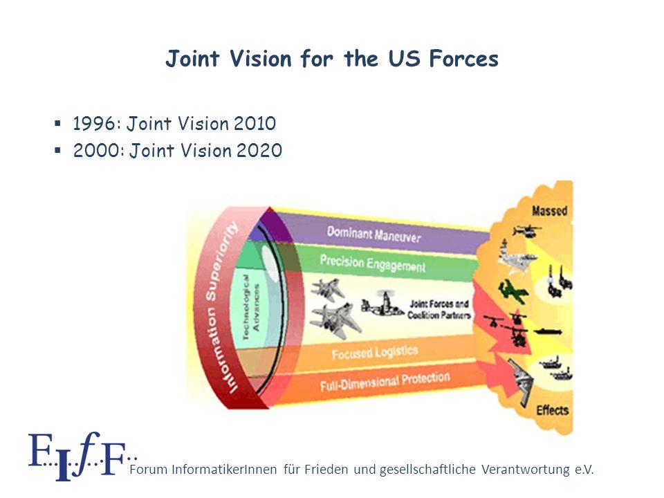 Forum InformatikerInnen für Frieden und gesellschaftliche Verantwortung e.V. Revolution in Military Affairs Why computer professionals should be conce