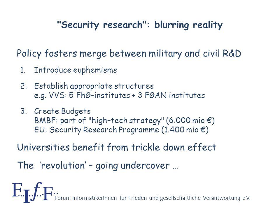 Forum InformatikerInnen für Frieden und gesellschaftliche Verantwortung e.V. Our view Unmanned vehicles and autonomous weapons with programmed conscie