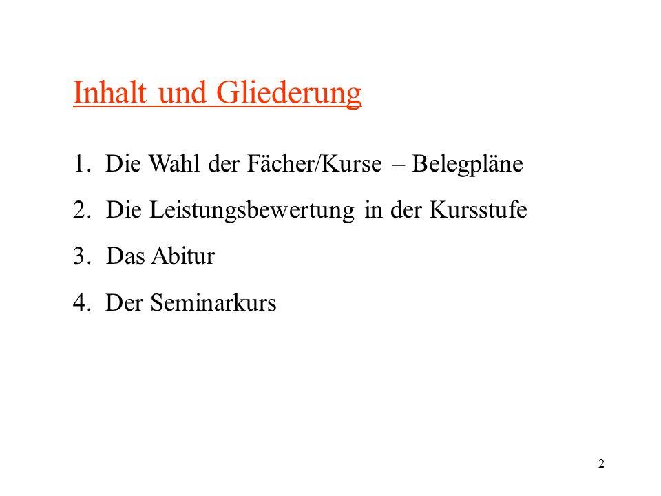 3 Begriffsklärungen Oberstufe Einführungsphase Klasse 11 Kursstufe Jahrgangsstufe 12/13 oder 1./2.