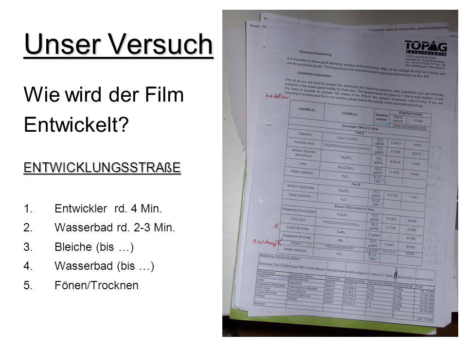 Unser Versuch Der Aufbau -> Laser -> Apparatur -> Glasscheiben -> Geeigneter Raum -> Holographie-Filme /-Filmplatten -> Objekte