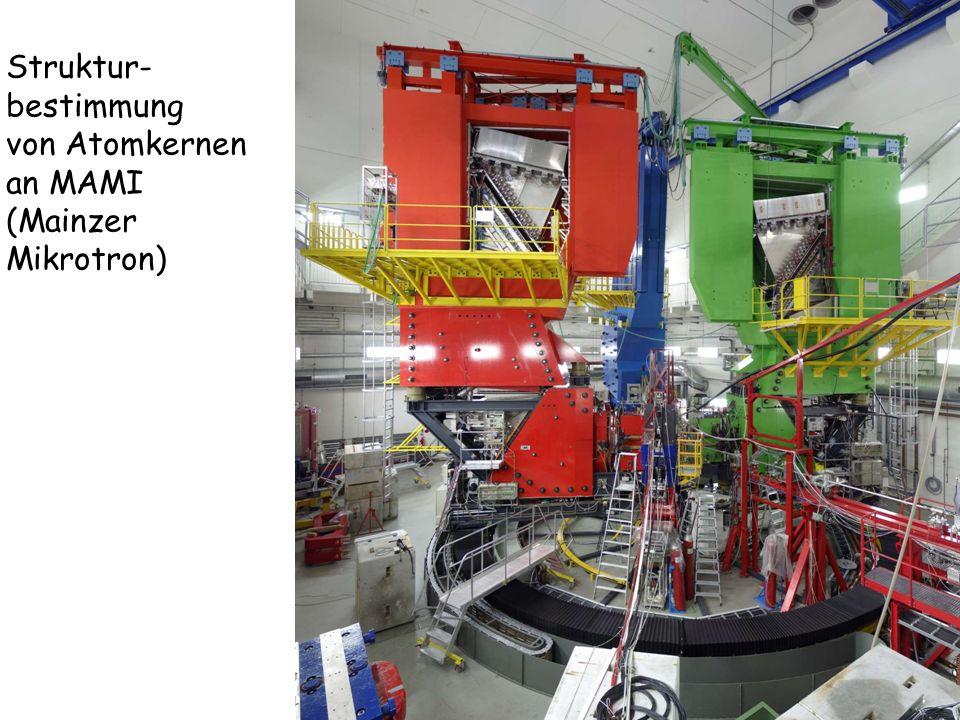 Struktur- bestimmung von Atomkernen an MAMI (Mainzer Mikrotron)