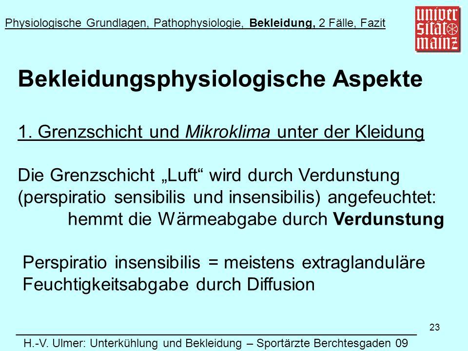 23 Bekleidungsphysiologische Aspekte 1.