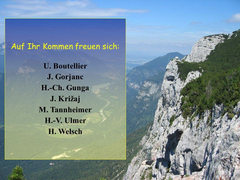 Auf Ihr Kommen freuen sich: U.Boutellier J. Gorjanc H.-Ch.