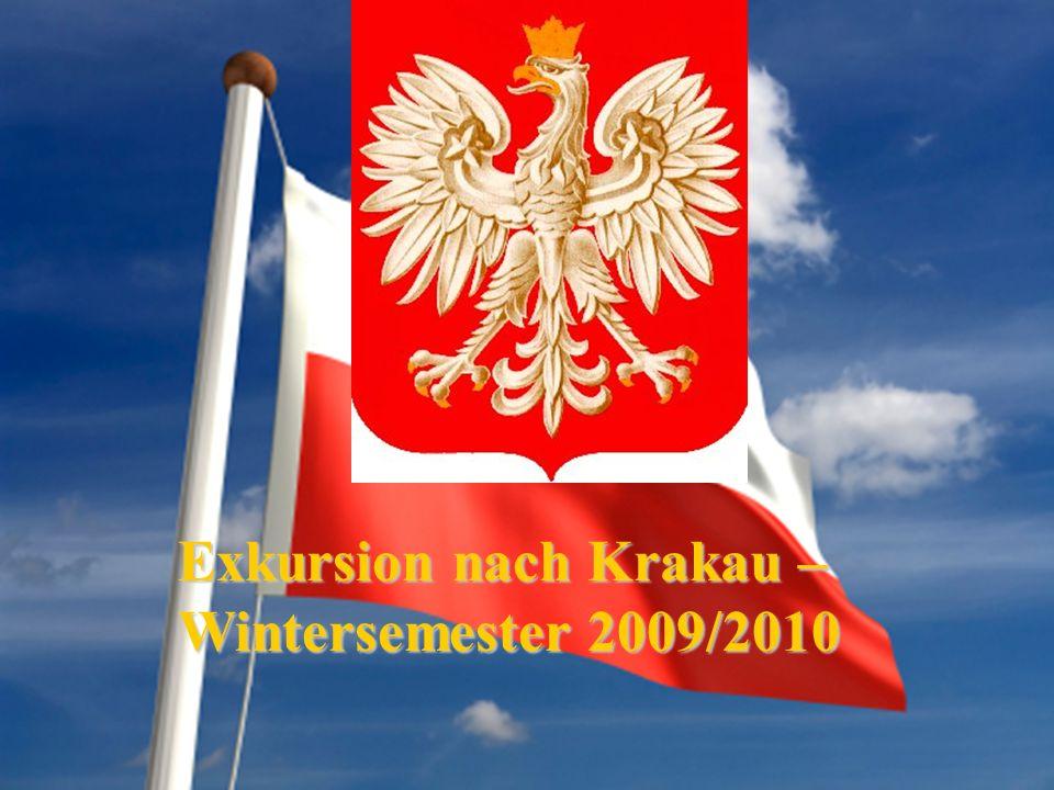 Exkursion nach Krakau – Wintersemester 2009/2010