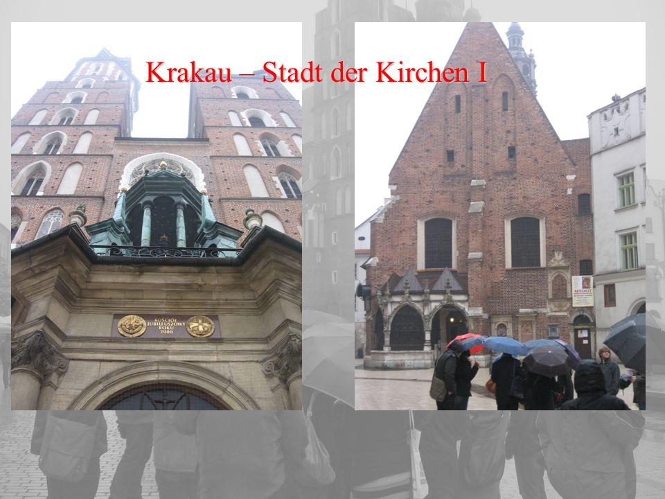 Krakau – Stadt der Kirchen I