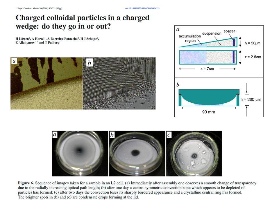 Opale als Sensoren Glukosesensor: Matrix ist ein funktionalisiertes Hydrogel und expandiert bei Zuckeraufnahme Wellenlängenänderung Asher et al., J.Am.Chem.Soc.