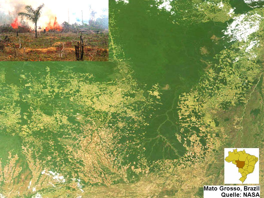 7 / 35 7 / 34 7 / 33 Einführung Mato Grosso, Brazil Quelle: NASA