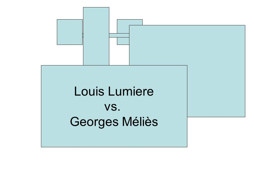 Louis Lumiere vs. Georges Méliès