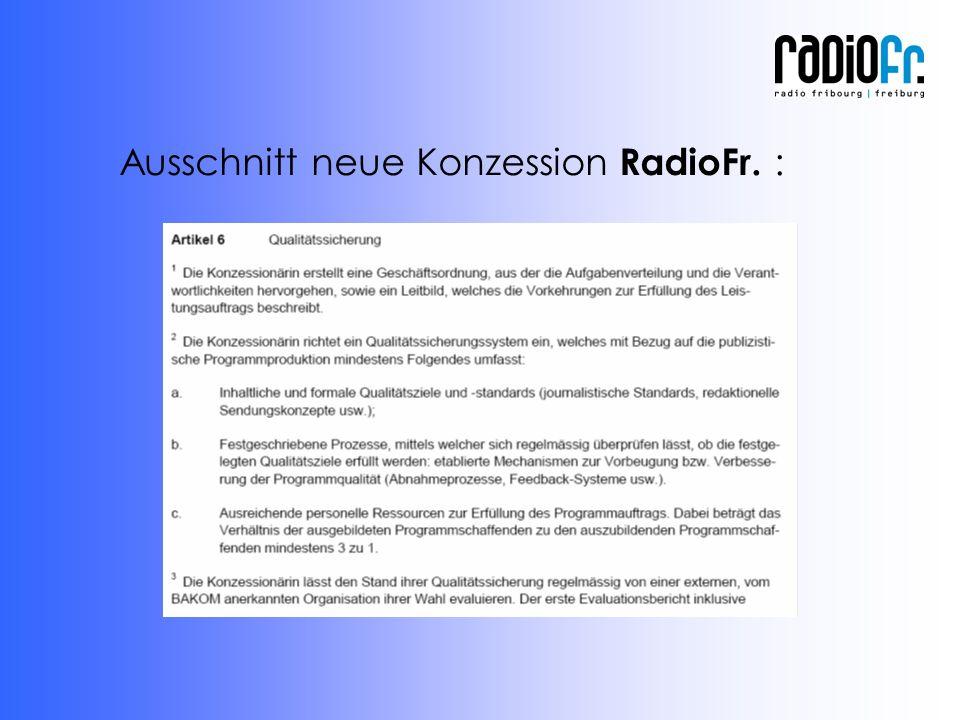 Ausschnitt neue Konzession RadioFr. :