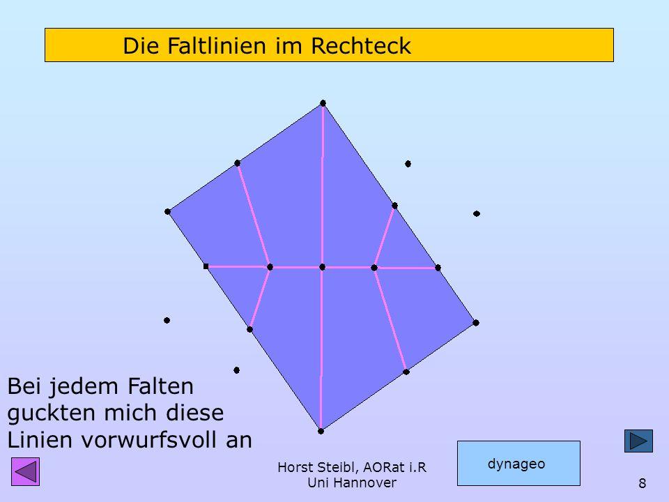 Horst Steibl, AORat i.R Uni Hannover7 TAN-54°-Rechteck 54° GK AK tan54°=1,376 DIN-Blatt, Wurzel-2-Rechteck 54,7° 1,414 = tan54,7° 2 * a a 36° 35,3° St