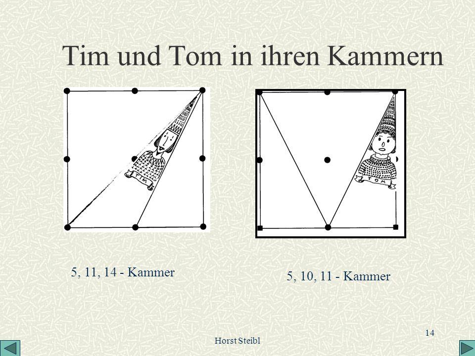 Horst Steibl 14 Tim und Tom in ihren Kammern 5, 11, 14 - Kammer 5, 10, 11 - Kammer