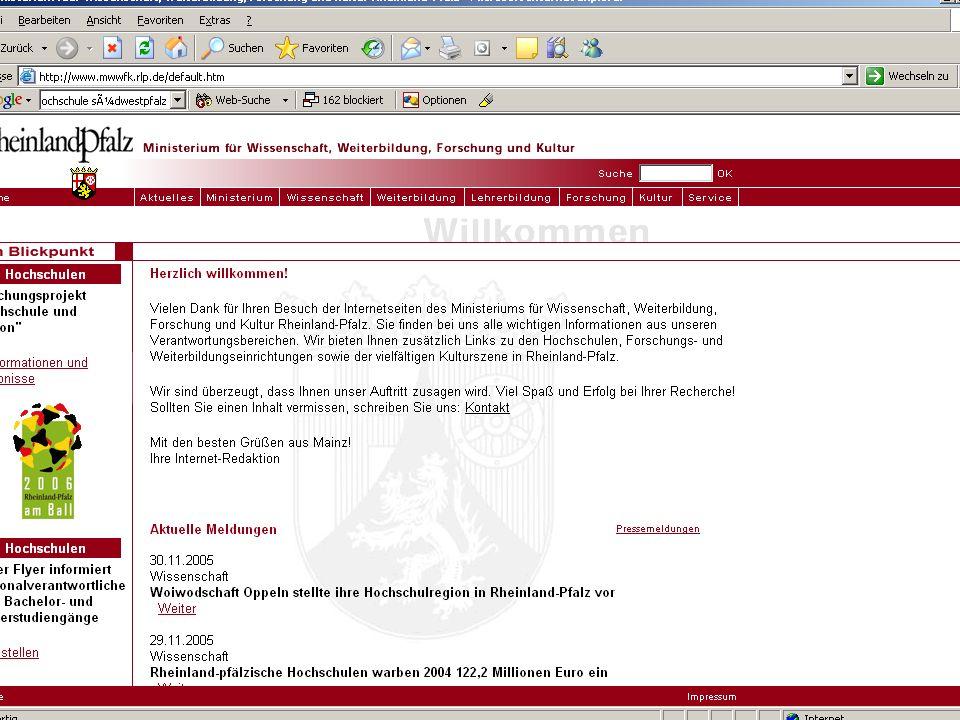 Förderrichtlinie Migrantinnen und Migranten FIF 02.12.2005 10