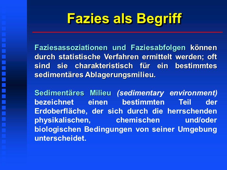 Stratigraphische Konzepte Sequenz-Stratigraphie (sequence stratigraphy) Vail et al.