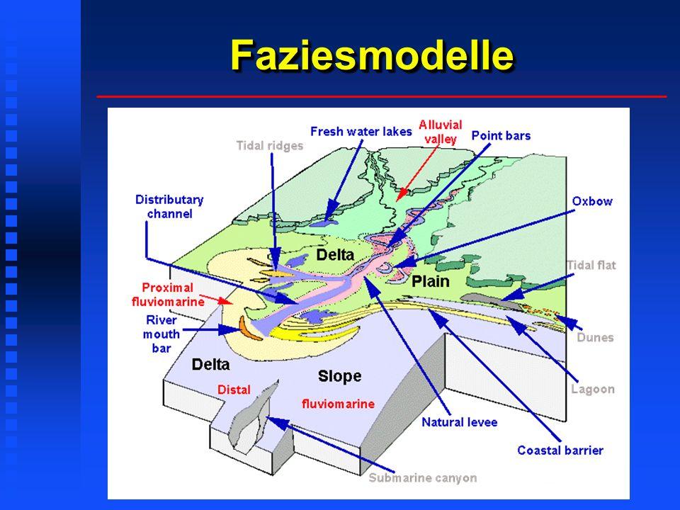Lithofazies-KlassifikationLithofazies-Klassifikation Das durch Miall (1978) eingeführte Schema der Lithofaziescodes wurde ursprünglich für Ab- lagerungen verflochtener Flußsysteme eingeführt, kann aber auch für beliebige andere Ablagerungs- systeme angepaßt werden: Der erste Großbuchstabe steht für die dominante Korngröße (z.B.