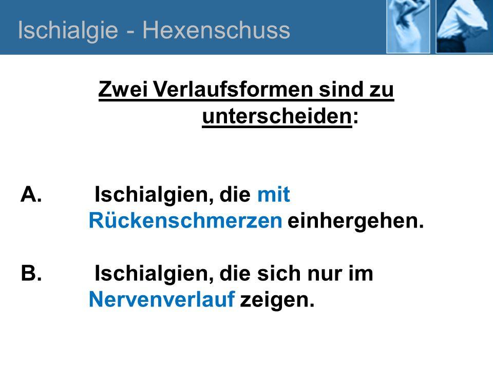Ischialgie - Hexenschuss A.