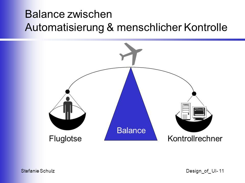 Stefanie SchulzDesign_of_ UI- 11 Balance zwischen Automatisierung & menschlicher Kontrolle Balance FluglotseKontrollrechner