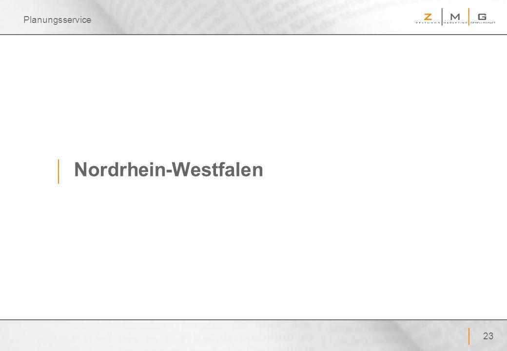 23 Planungsservice Nordrhein-Westfalen