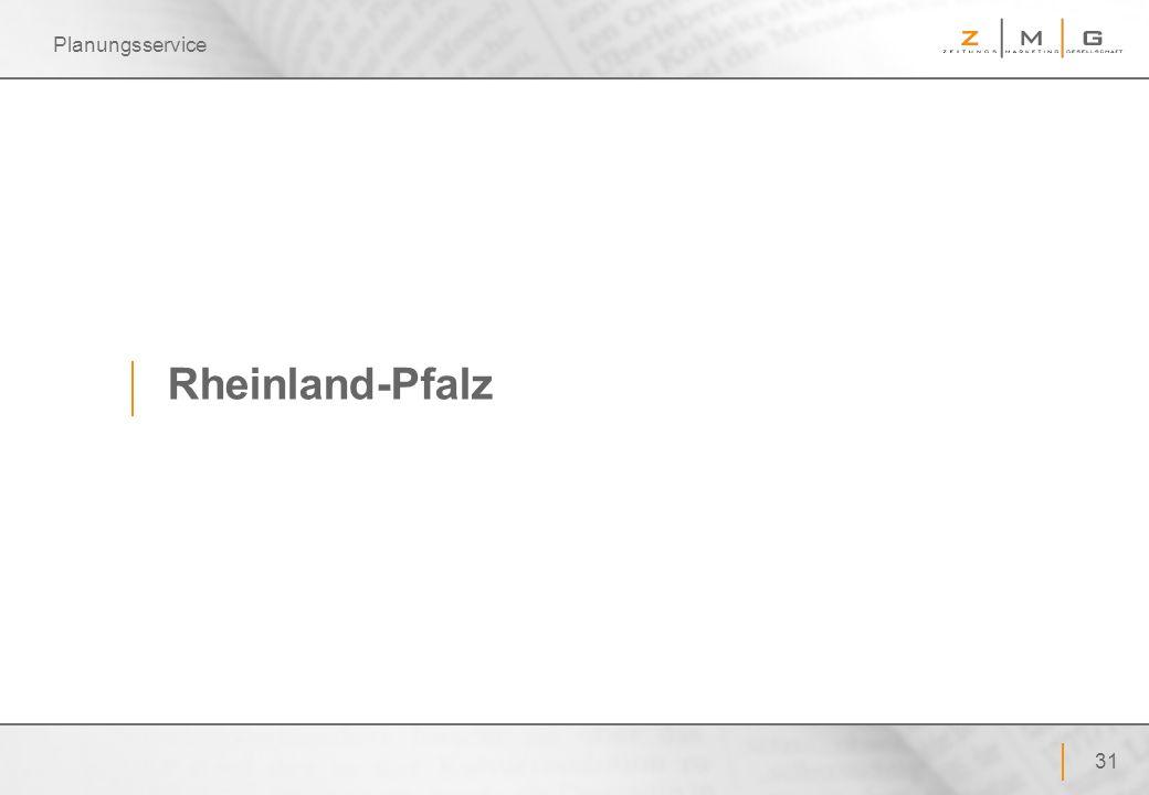 31 Planungsservice Rheinland-Pfalz