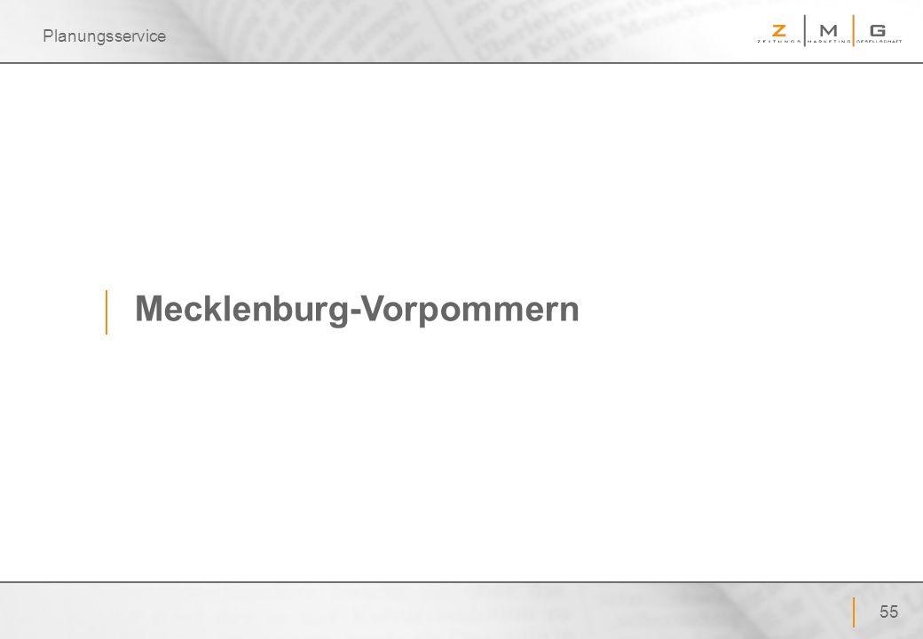 55 Planungsservice Mecklenburg-Vorpommern
