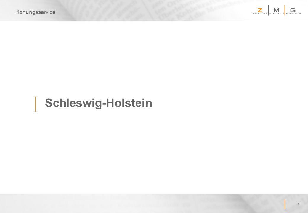 7 Planungsservice Schleswig-Holstein