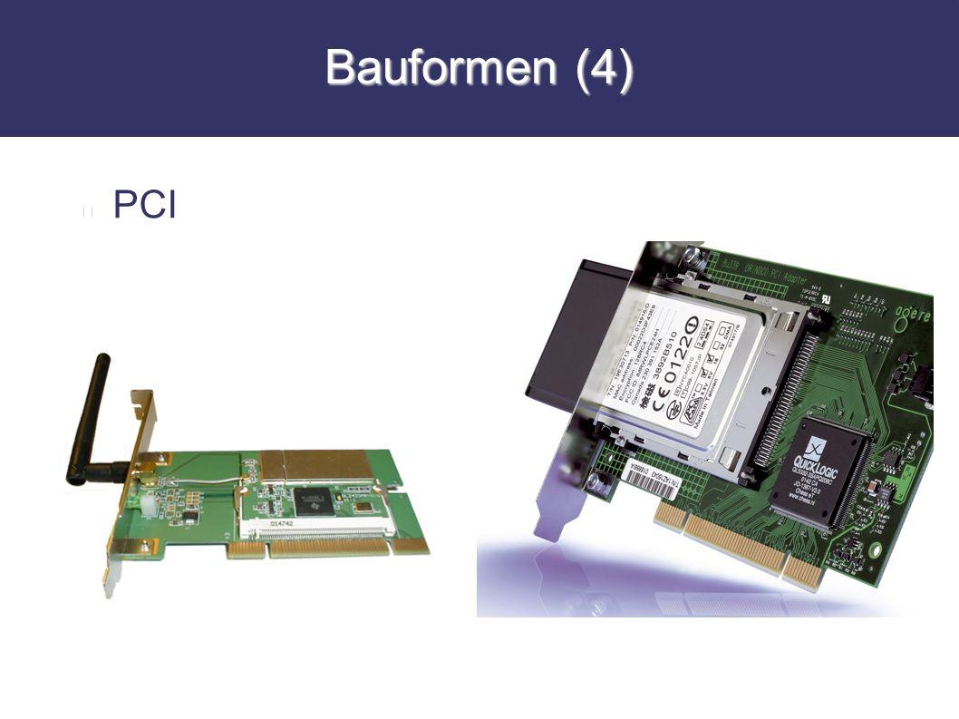 Bauformen (4) PCI