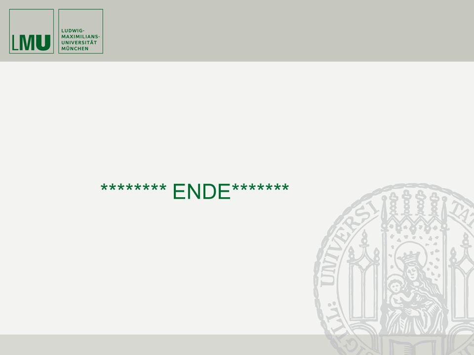 ******** ENDE*******