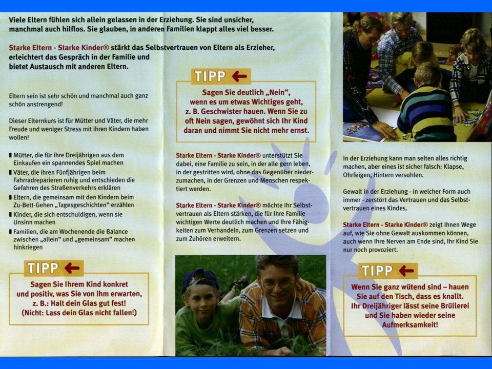Faltblatt – Vorstellen des Kurses