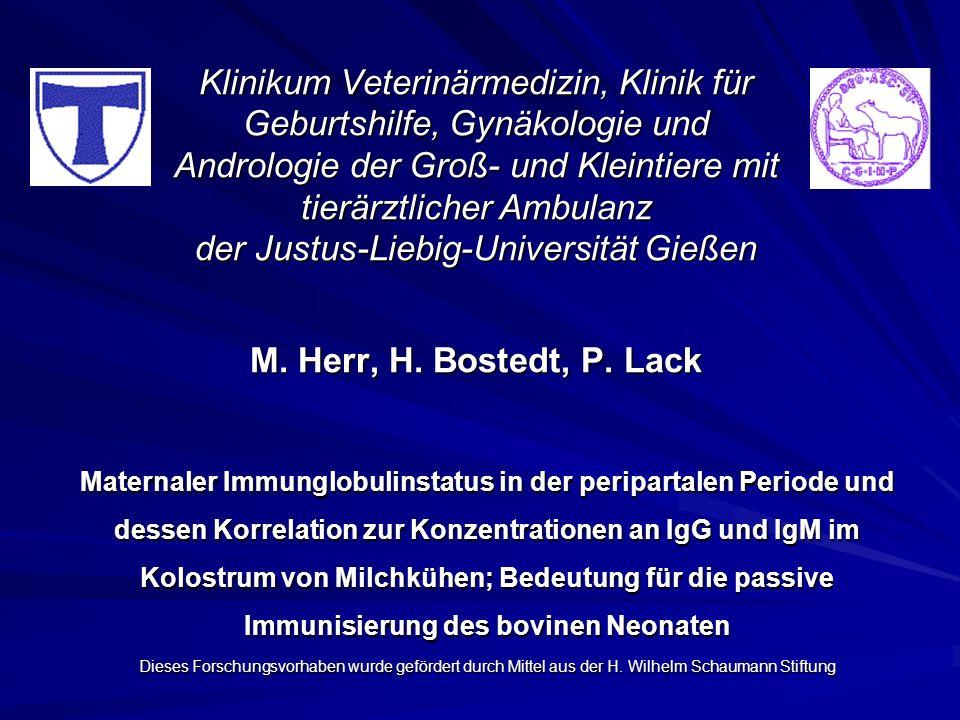 Klinikum Veterinärmedizin, Klinik für Geburtshilfe, Gynäkologie und Andrologie der Groß- und Kleintiere mit tierärztlicher Ambulanz der Justus-Liebig-