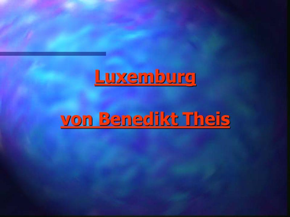 Luxemburg von Benedikt Theis