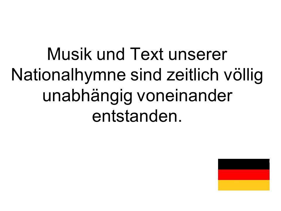 1922 - Das Lied wird mit drei Strophen von der sozialdemokratischen Regierung in der Weimarer Republik zum Lied der Deutschen erklärt