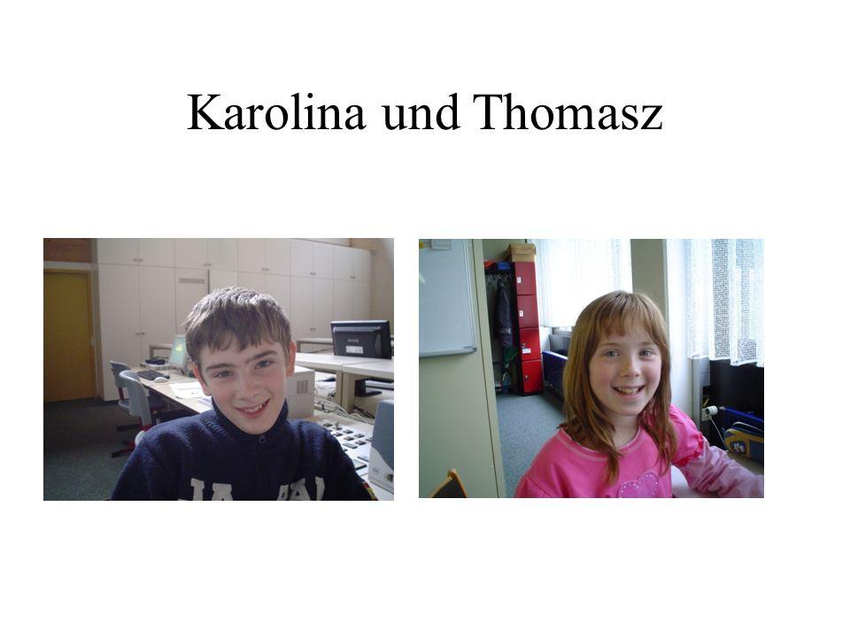 Karolina und Thomasz