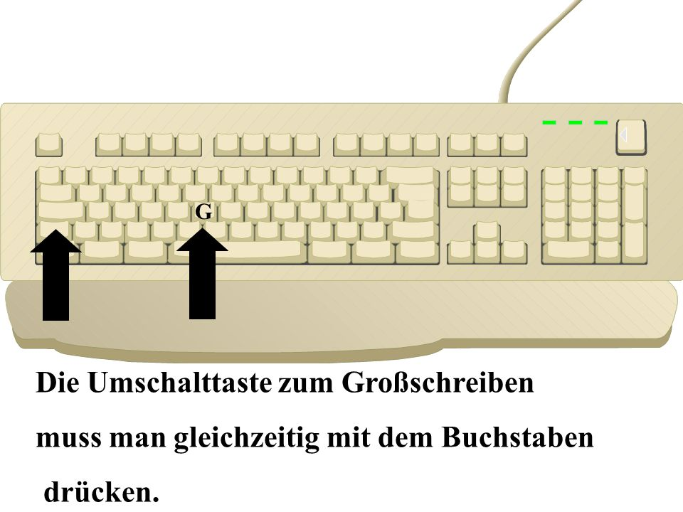 Computerkurs Die Tastatur