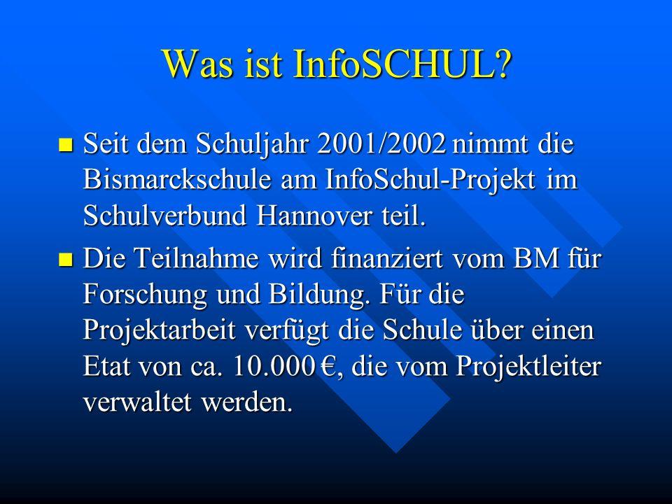 InfoSCHUL Projekt Länderübergreifende elektronische Partnerschaften Bismarckschule Hannover