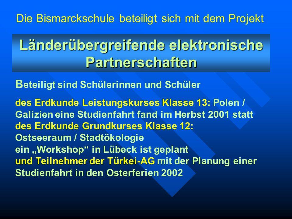 Was ist InfoSCHUL? Seit dem Schuljahr 2001/2002 nimmt die Bismarckschule am InfoSchul-Projekt im Schulverbund Hannover teil. Seit dem Schuljahr 2001/2